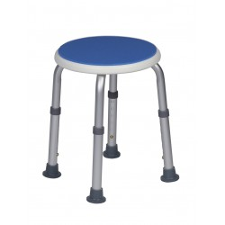 Tabouret de douche BLUE SEAT assise ronde