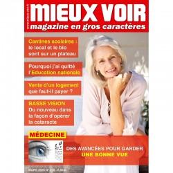 Magazines en grands caractères