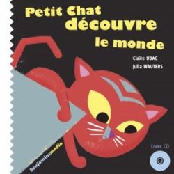 """Livre Enfant """"Petit chat découvre le monde"""""""