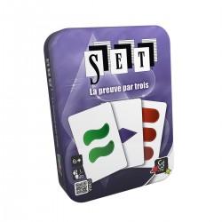 Jeu de cartes SET