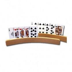 Porte-cartes à jouer arrondi