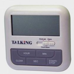Minuteur et horloge parlants