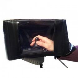 Kit chauffant de mains pour fauteuils roulants électriques